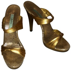 Marciano Gold Sandals