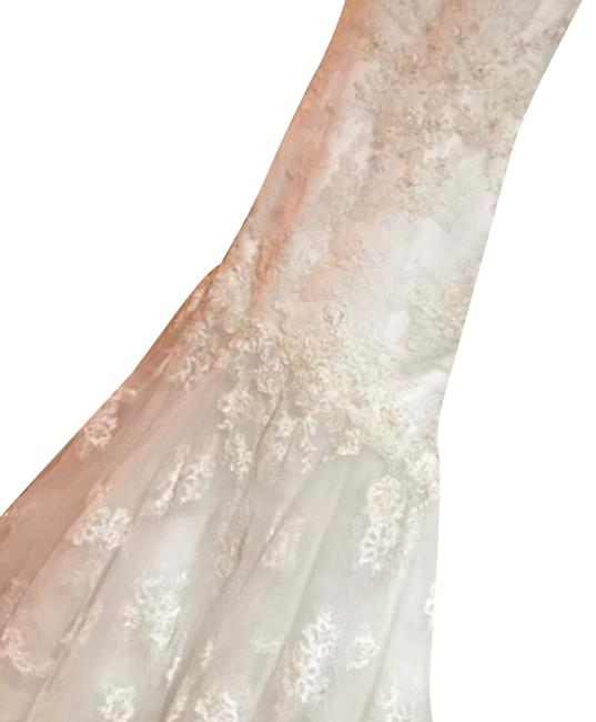 Item - White Queen Gown Long Formal Dress Size Petite 4 (S)