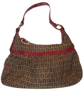 d45e470281 Fendi Mint Condition Great For Everyday Shades Of Blue Bold Gold Accents  'chef' Hobo