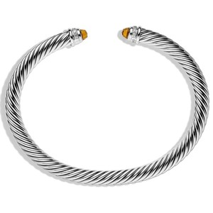 David Yurman David Yurman Cable Classic Citrine with Diamonds