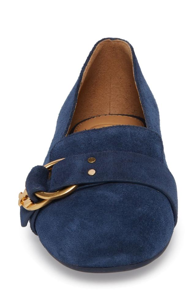 b16ca0368 Tory Burch Perfect Navy Marsden Loafer Women 10m Formal Shoes Size ...