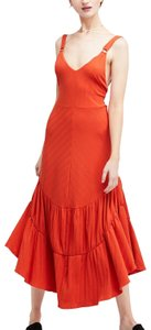 orange Maxi Dress by Free People