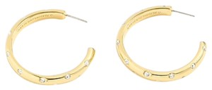J.Crew Crystals Studded Hoops