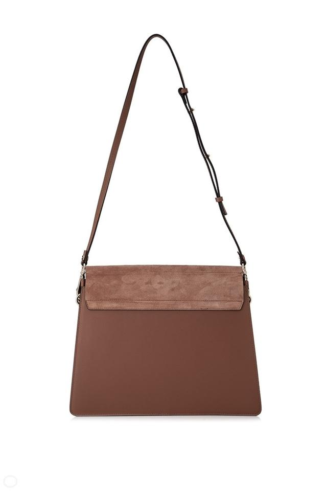 95d68268221bc Chloé Faye Chestnut Brown Shoulder Bag - Tradesy