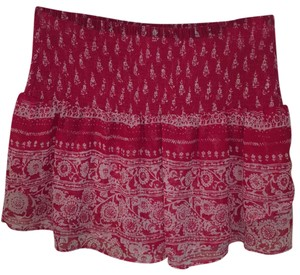 Express Mini Skirt Red