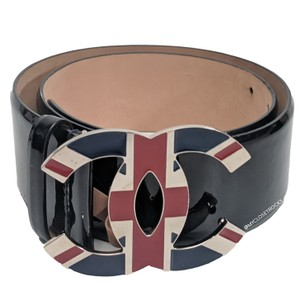 Chanel Chanel Union Jack Buckle Waist Belt