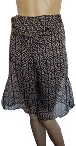 Chanel Coco Interlocking Cc Skirt Monogram Logo Skort Black