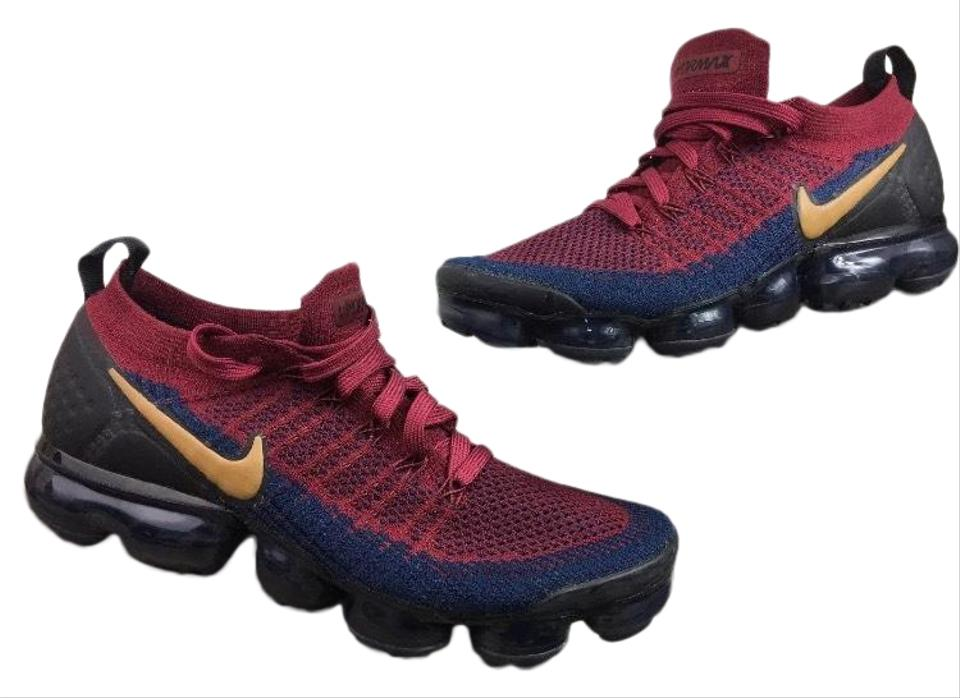 f2824e9ed3174 Nike Air Vapormax Flyknit 2.0 Olympic Team Red Wheat Navy 942842-604 ...