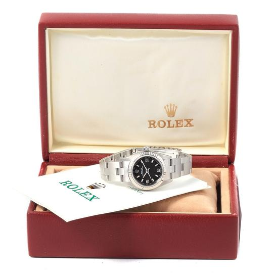 Rolex Rolex Oyster Perpetual Non-Date Steel White Gold Ladies Watch 76094 Image 11