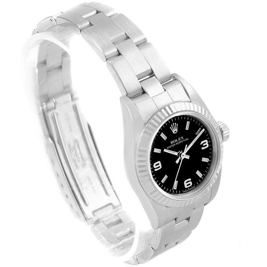 Rolex Rolex Oyster Perpetual Non-Date Steel White Gold Ladies Watch 76094 Image 2