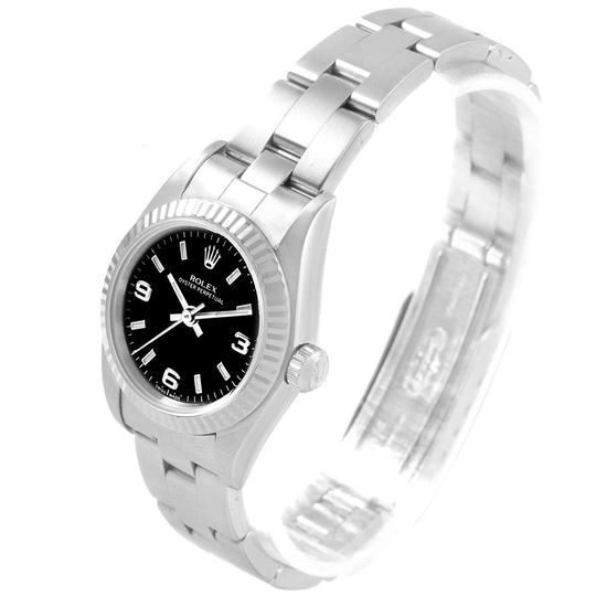 Rolex Rolex Oyster Perpetual Non-Date Steel White Gold Ladies Watch 76094 Image 3