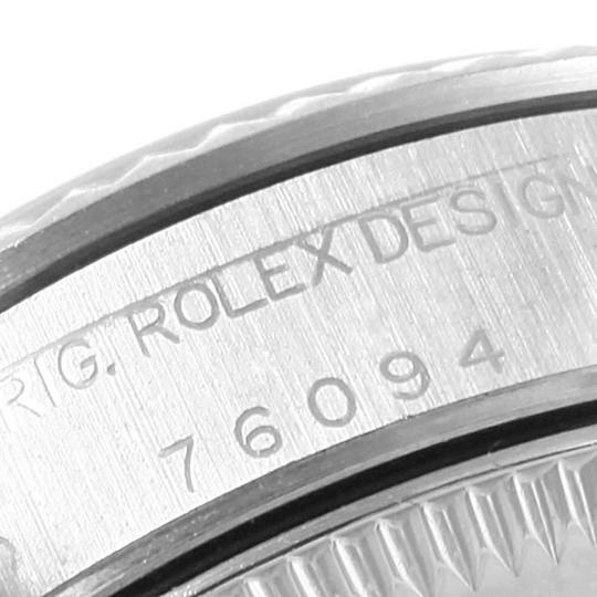 Rolex Rolex Oyster Perpetual Non-Date Steel White Gold Ladies Watch 76094 Image 6