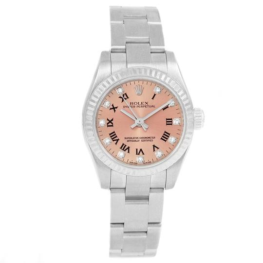 Rolex Rolex Oyster Perpetual 26 Steel White Gold Diamond Ladies Watch 176234 Image 1