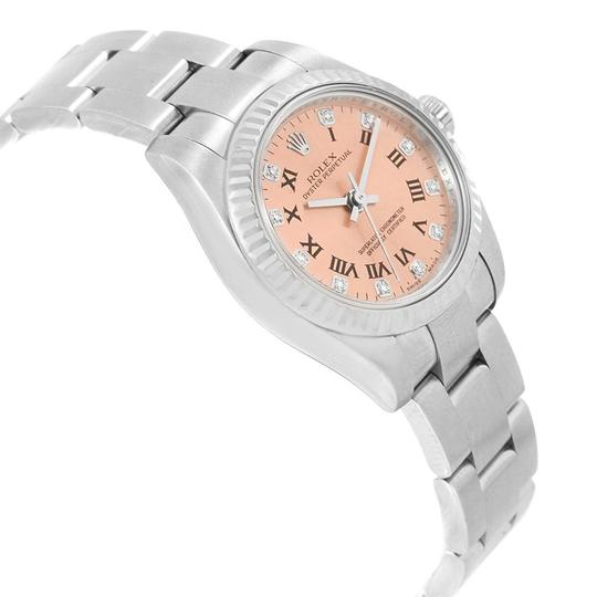 Rolex Rolex Oyster Perpetual 26 Steel White Gold Diamond Ladies Watch 176234 Image 2