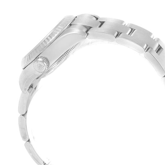 Rolex Rolex Oyster Perpetual 26 Steel White Gold Diamond Ladies Watch 176234 Image 4