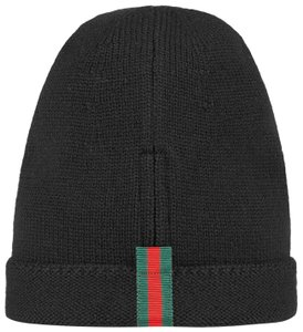 Gucci Wool hat with web Size S