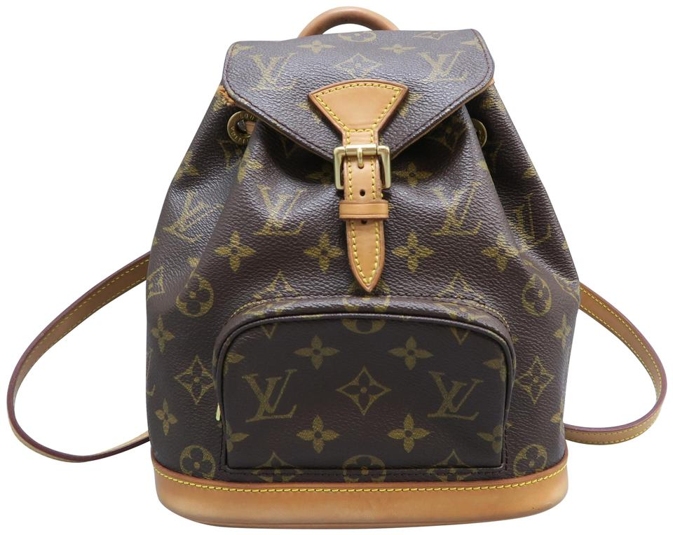 018a2d451ad2 Louis Vuitton Montsouris Monogram Brown Canvas Backpack - Tradesy