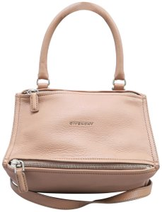 Givenchy Pandora Calfskin Small Tote in nude