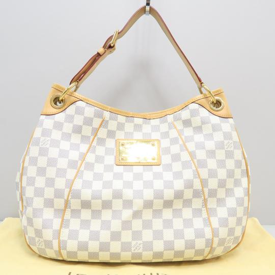 Louis Vuitton Lv Galliera Pm Canvas Hobo Bag