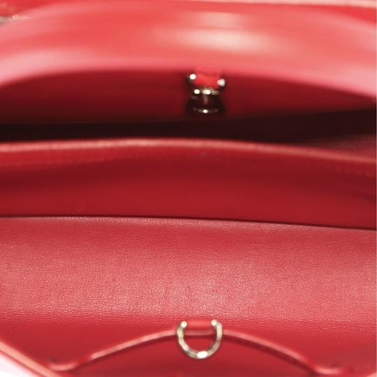 Louis Vuitton Capucines Leather Satchel in Red Image 5