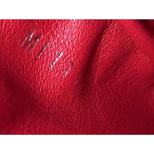 Louis Vuitton Capucines Leather Satchel in Red Image 6
