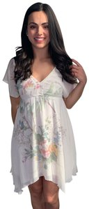 Maurices short dress White Floral Floral on Tradesy