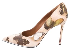 Givenchy Butterfly Printed Leather Pumps