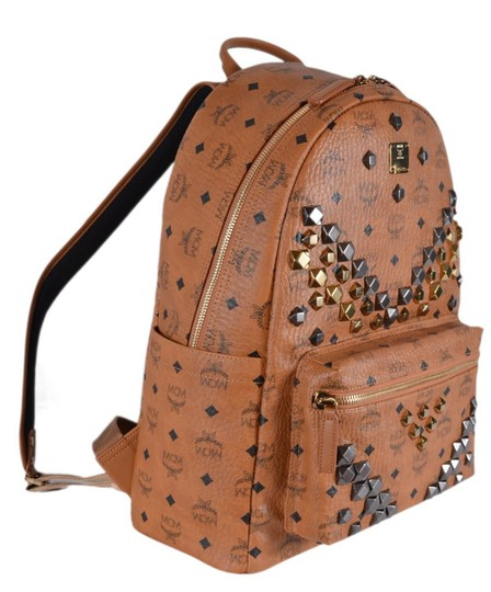 Preload https://img-static.tradesy.com/item/24612329/mcm-new-studded-visetos-stark-brown-coated-canvas-and-leather-backpack-0-1-540-540.jpg