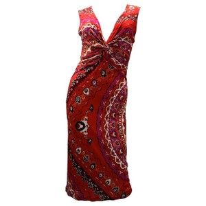 Red Maxi Dress by Emilio Pucci