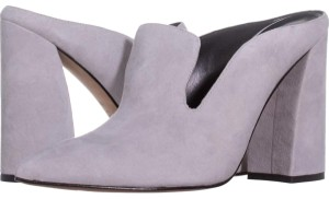 Marc Fisher Grey Mules