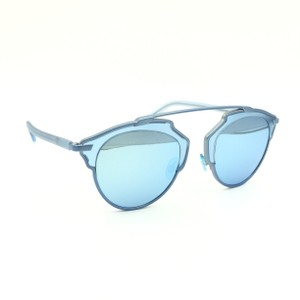 78977b255e0a Dior Dior Light Blue Metallic Cat Eyed Sunglasses DiorSoReal RMJLH