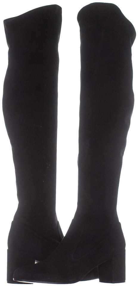 0d1eec51f7b Vince Black Blythe Over The Knee 257   40 Eu Boots Booties Size US ...