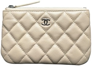 Chanel Chanel Leather Nude O-Case