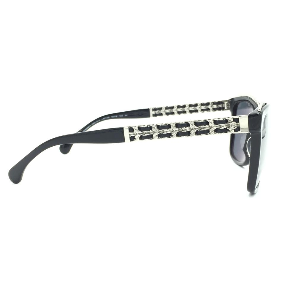 6d1dbcc4d17ec Chanel Square Polished Chain Mirrored Sunglasses 5360QA 501 26 Image 9.  12345678910