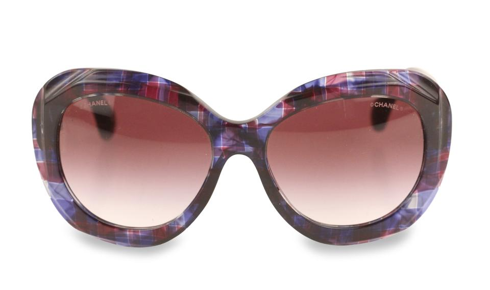 c1255b888267 Chanel Multicolor Oversized Butterfly Sunglasses - Tradesy