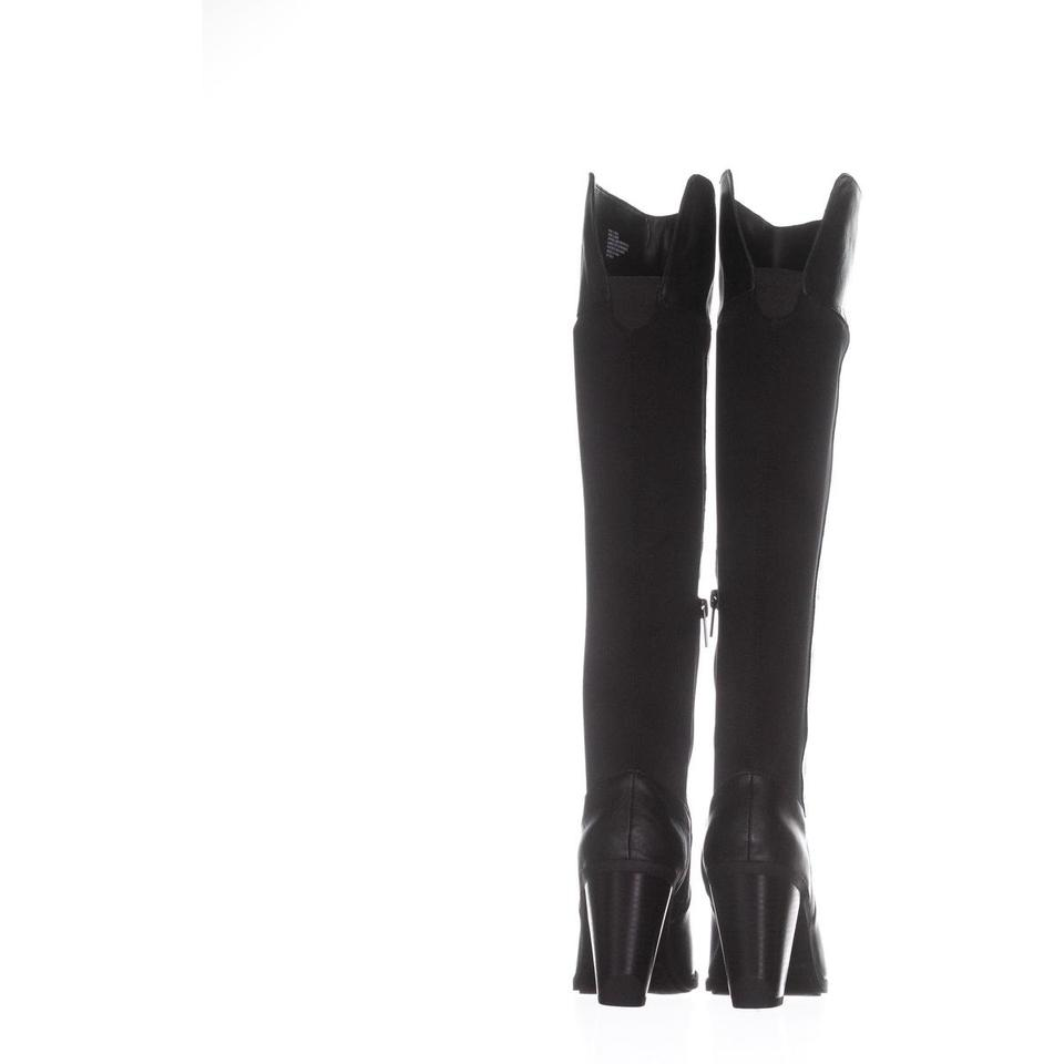 9d857bb4add Kenneth Cole Black Reaction Very Clear Over-the-knee 243 Boots Booties