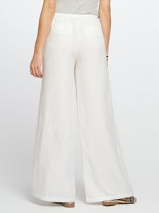 Brandon Maxwell Wide Leg Pants White