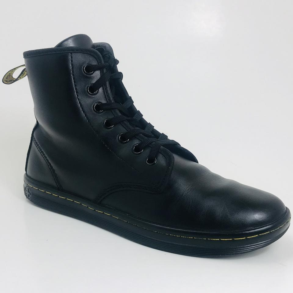 7e6d1ed6d81 Dr. Martens Black Shoreditch 7-eye Lace Up Boots/Booties Size US 7 Regular  (M, B)