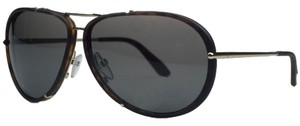 Tom Ford Tom Ford Havana Matte/Gold Aviator Sunglasses