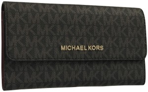 cc8c55ddca8f Michael Kors Wallet Brown Mulberry Wristlet in Brown Mulberry
