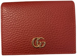 Gucci Gucci leather card wallet