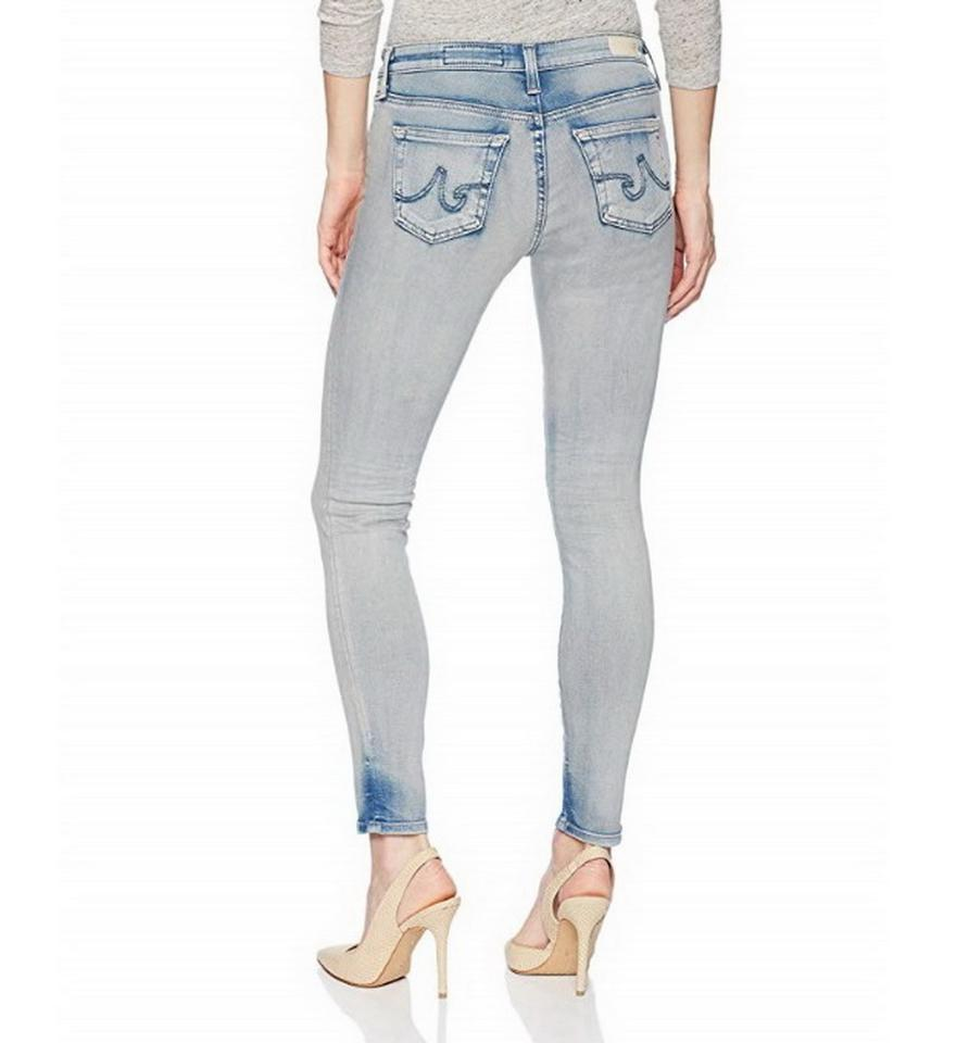 880e4f0ab629f9 AG Adriano Goldschmied 18 Year Tnc Light Wash Legging Ankle Skinny Jeans