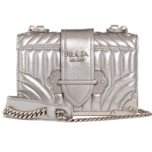 Prada Chain Strap Cahier Strap Cross Body Bag