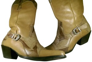 Dingo Leather BROWN TAN RUST Boots