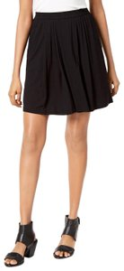 Eileen Fisher Walking Viscose Jersey Skort Black