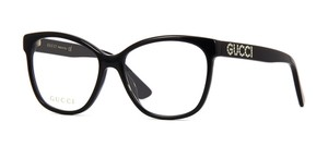 Gucci Large w/ Crystals GG0421O 001 -FREE and FAST SHIPPING -Optical Glasses