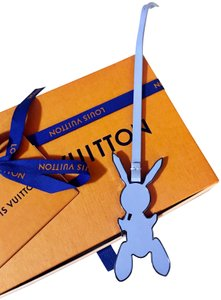 Louis Vuitton Limited Edition Master's Collection Jeff Koons Bunny Bag Charm