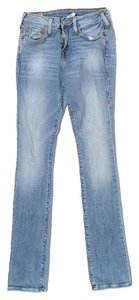 True Religion Straight Leg Jeans-Light Wash