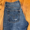 Levi's Blue Red Distressed 501 Tapered Button Fly Capri/Cropped Jeans Size 0 (XS, 25) Levi's Blue Red Distressed 501 Tapered Button Fly Capri/Cropped Jeans Size 0 (XS, 25) Image 6