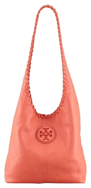 Item - Marion Tomato Red Pebbled Leather Hobo Bag